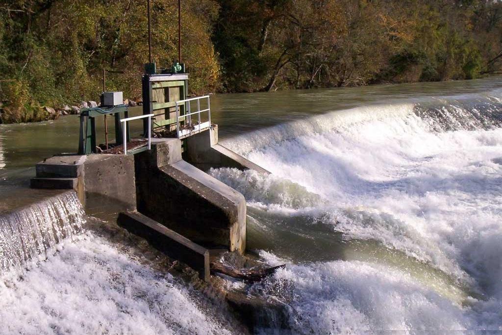 Déversoir du barrage