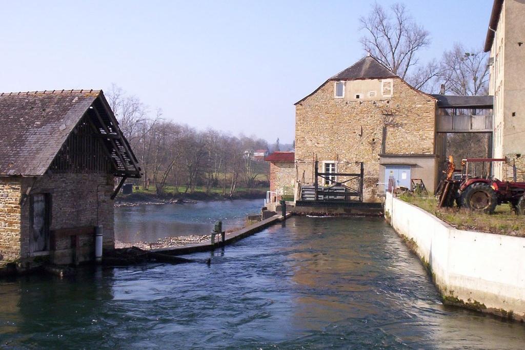 Canal d'entrée de la turbine de la micro-centrale électrique